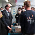 La visite du Premier ministre à Angers
